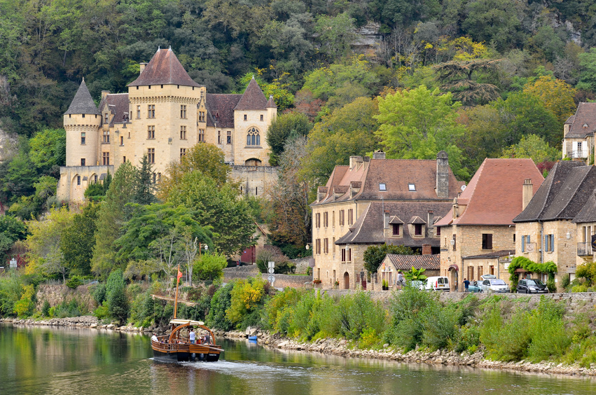 Le village de la Roque-Gageac