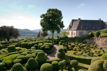 The garden of Marqueyssac